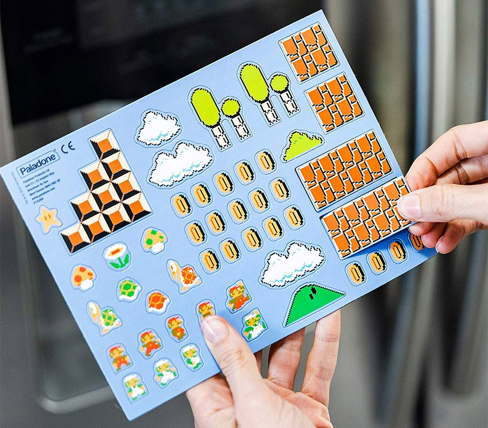 Super Mario Fridge Magnets