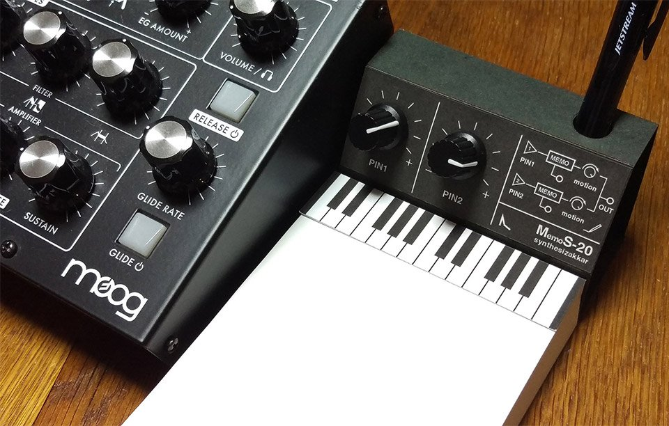 Synthesizer Paper Goods