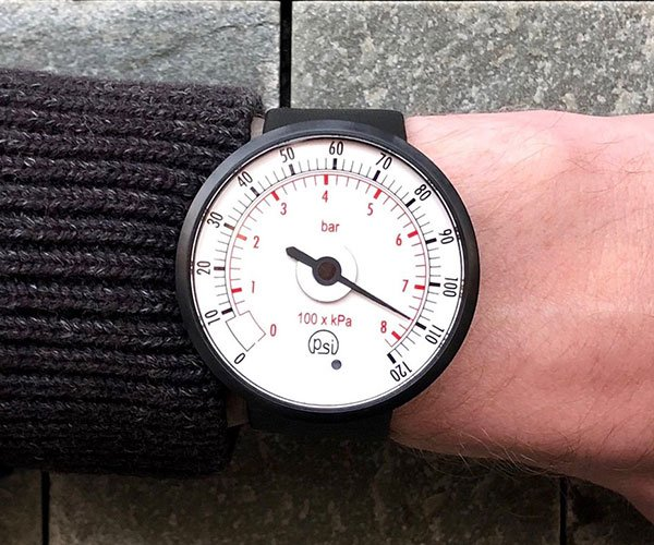 Tokyoflash Pressure Gauge Watch