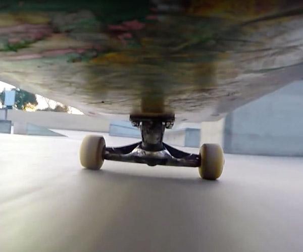Underneath a Skateboard