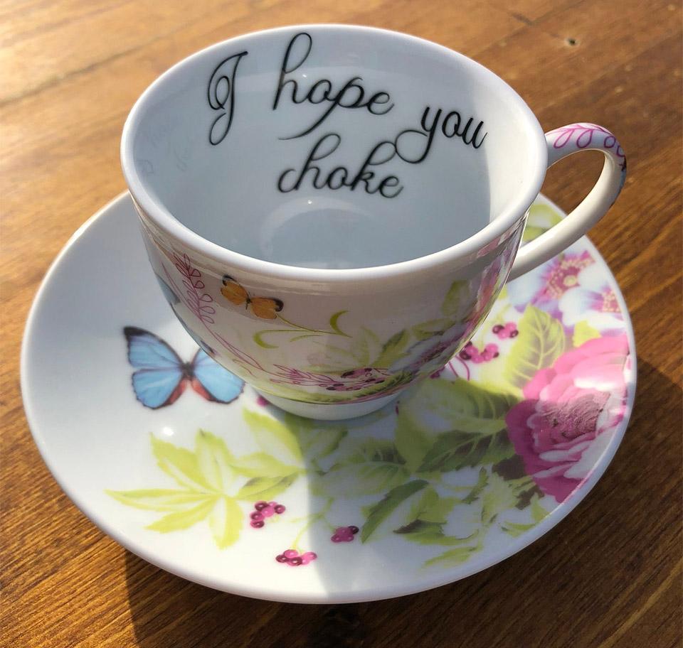 Vulgar Tea Cups