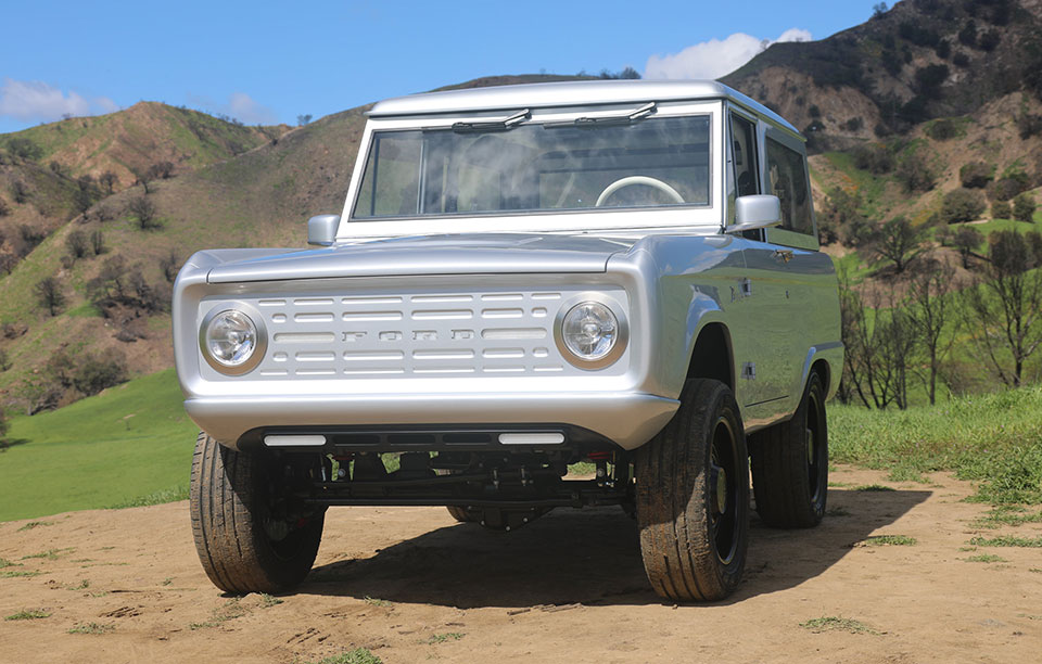 Zero Labs Electric Ford Bronco