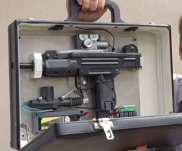 Airsoft Machine Gun Briefcase