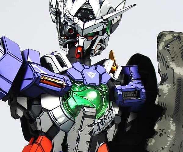 Anime-Style Gundam Model Painting