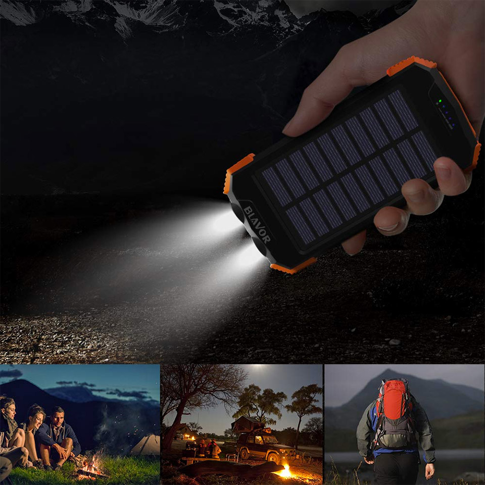 Multifunction Battery Pack Flashlight
