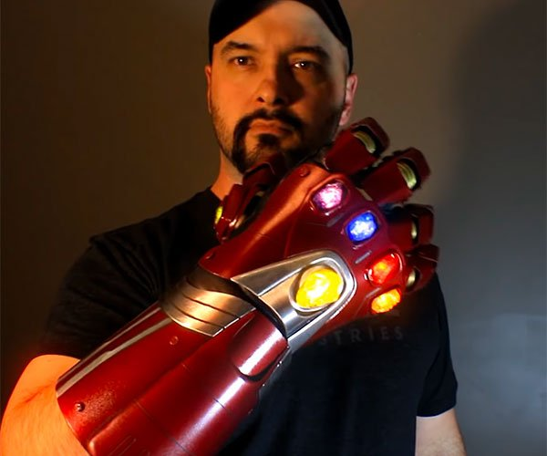 DIY Iron Man Nano Gauntlet