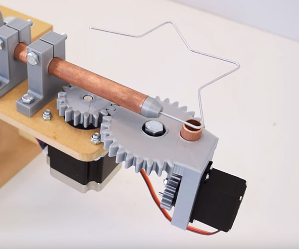 DIY Wire Bending Machine