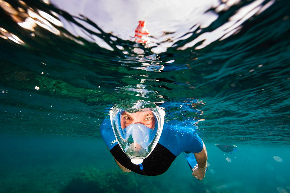Full-face Snorkeling Mask