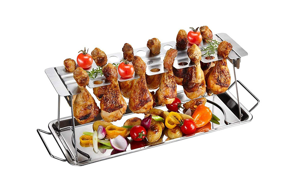 GEFU Barbecue Chicken Leg Rack