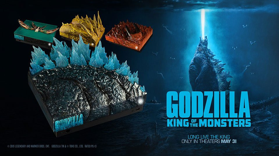 Godzilla Xbox One X Consoles