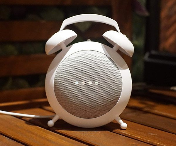 Google Home Mini Alarm Clock