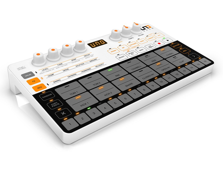 ik multimedia uno is a mini drum machine with mega sounds. Black Bedroom Furniture Sets. Home Design Ideas