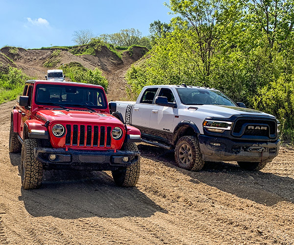Jeep and Ram at Badlands
