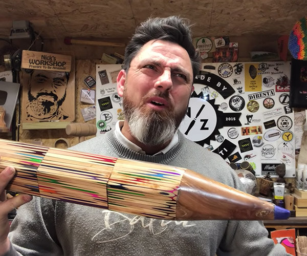 Making a Giant Pencil from Pencils