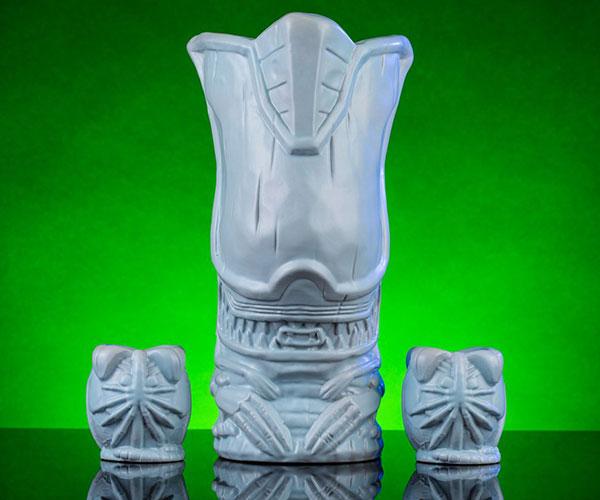 Mondo Alien Queen Tiki Mug