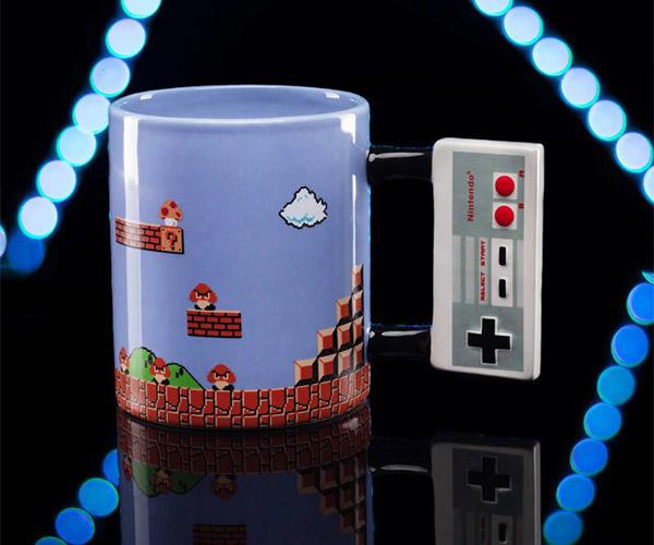 NES Controller Mug