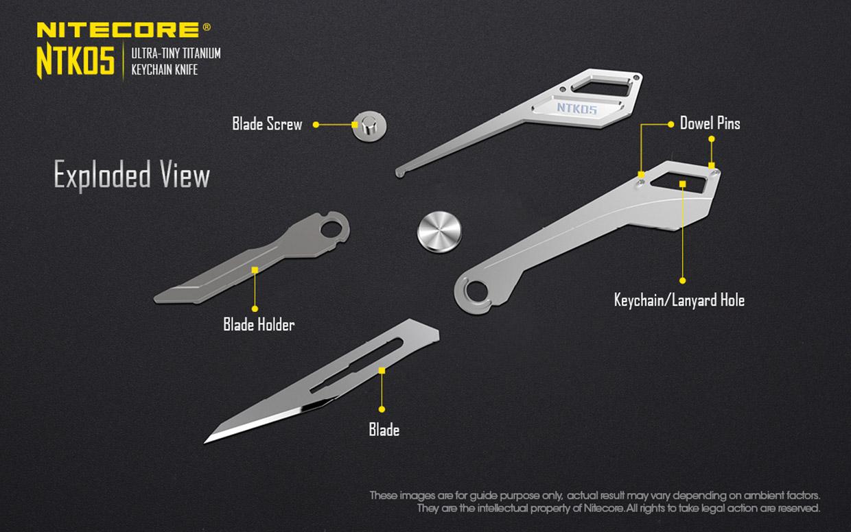 Nitecore NTK05 Knife