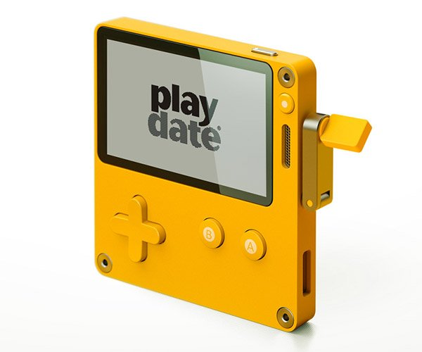 Playdate Handheld Gaming System