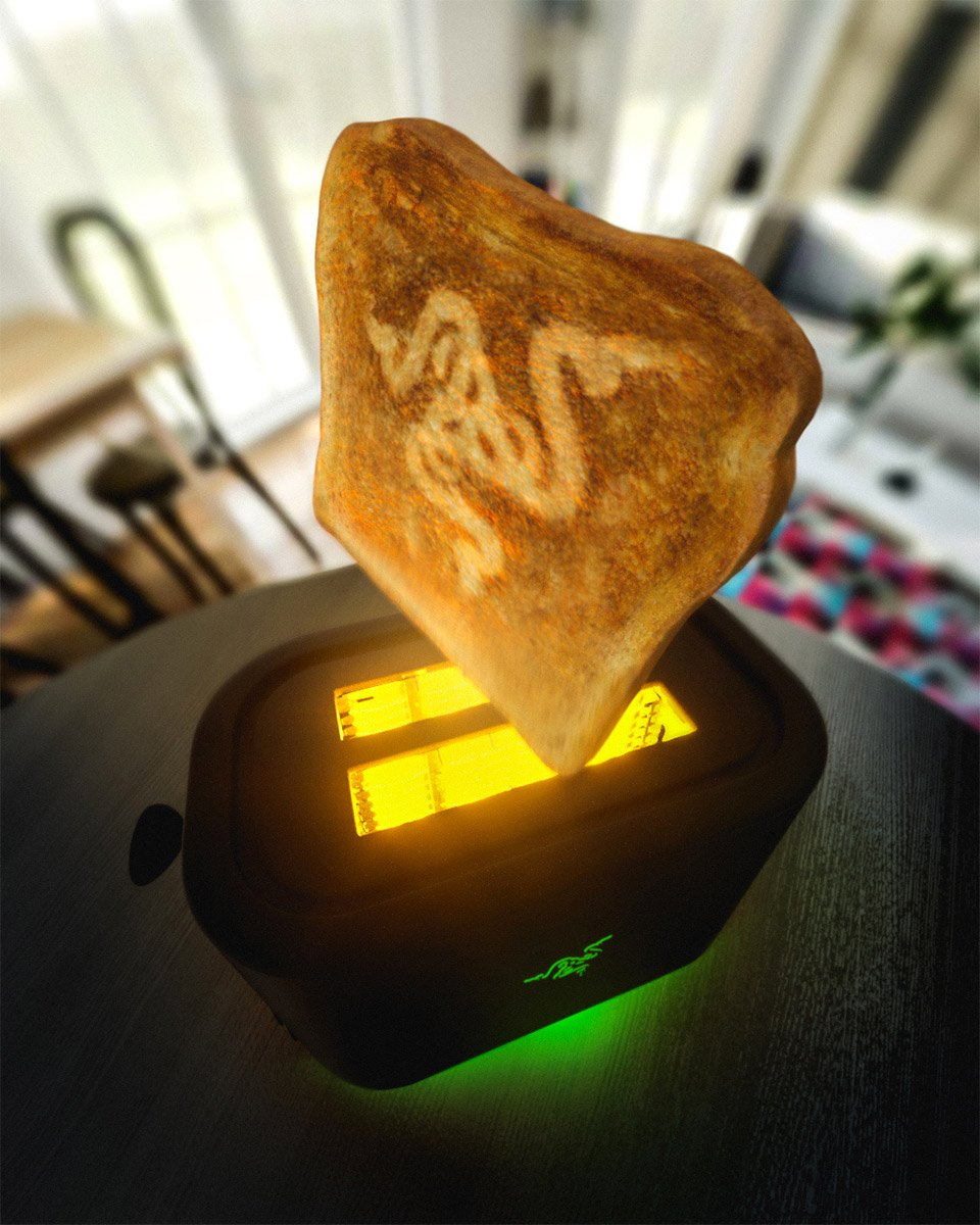 Razer Project Breadwinner Toaster