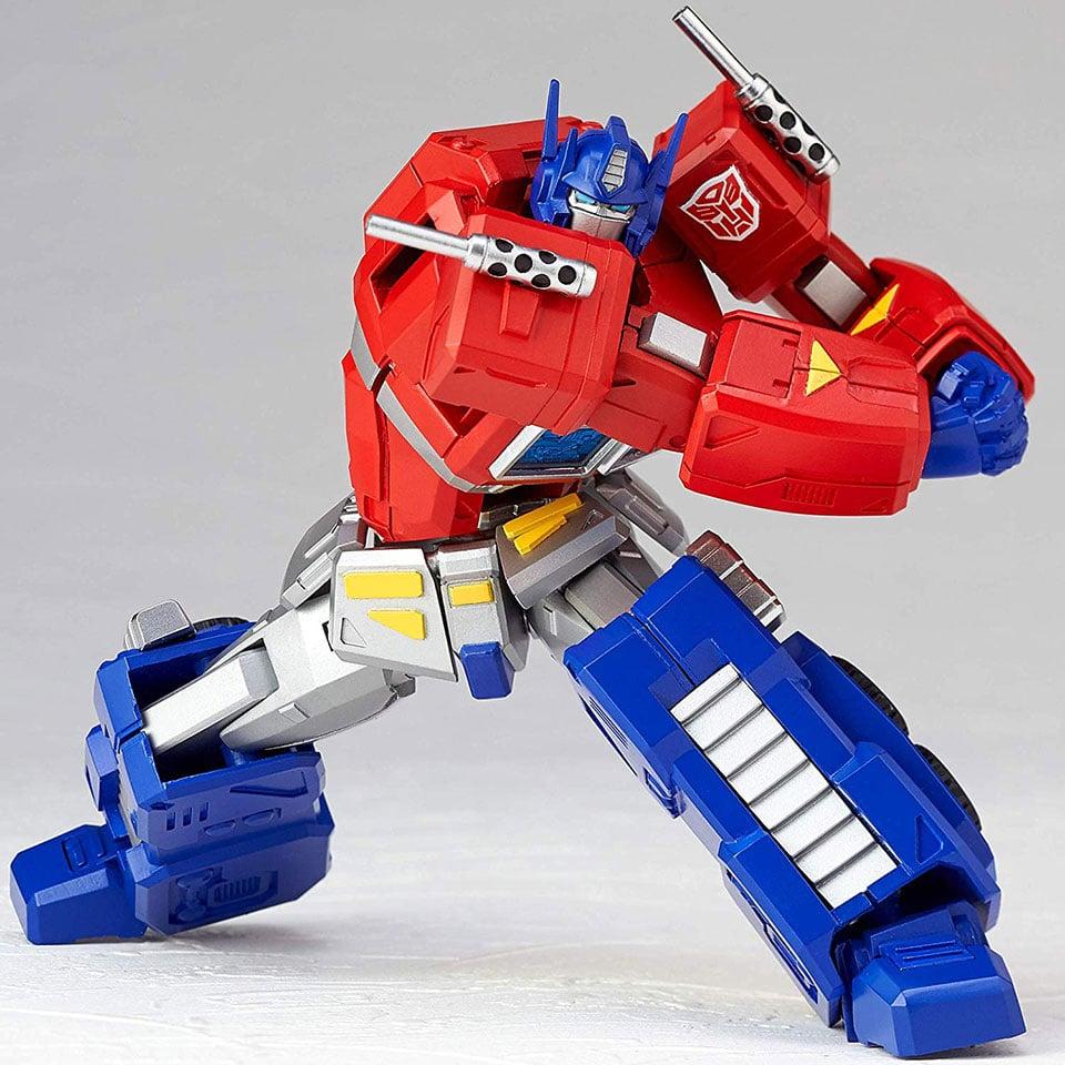 Revoltech Optimus Prime Action Figure