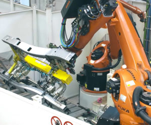 Robots Make an SUV Frame