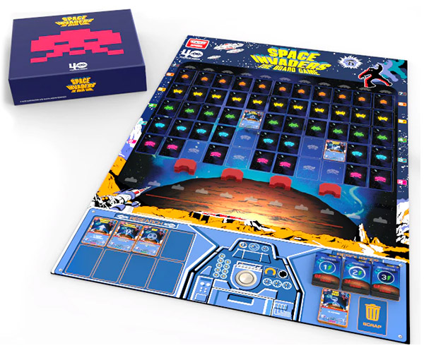 Space Invaders: The Board Game