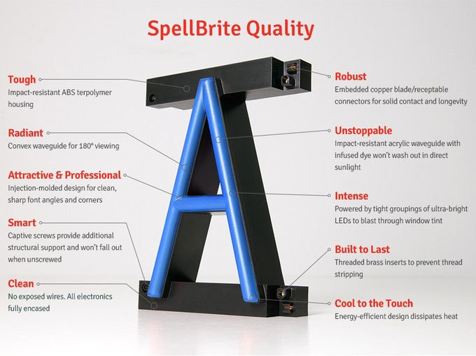 SpellBrite LED Signs