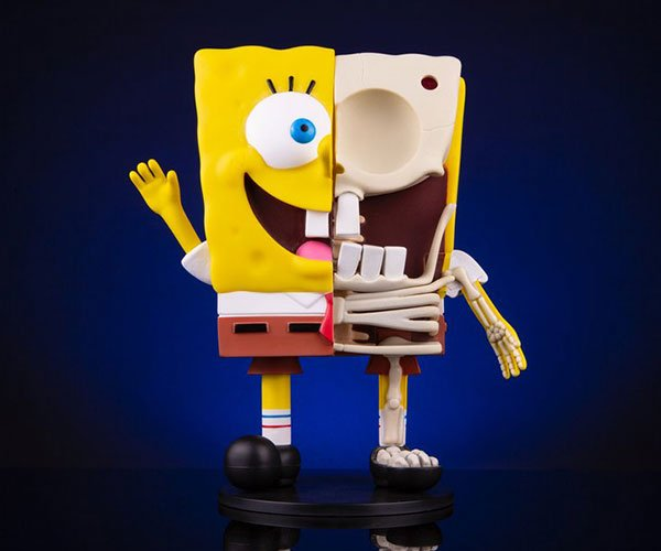 Spongebob Dissected Figure