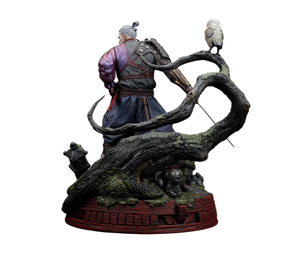 The Witcher Geralt Ronin Statue