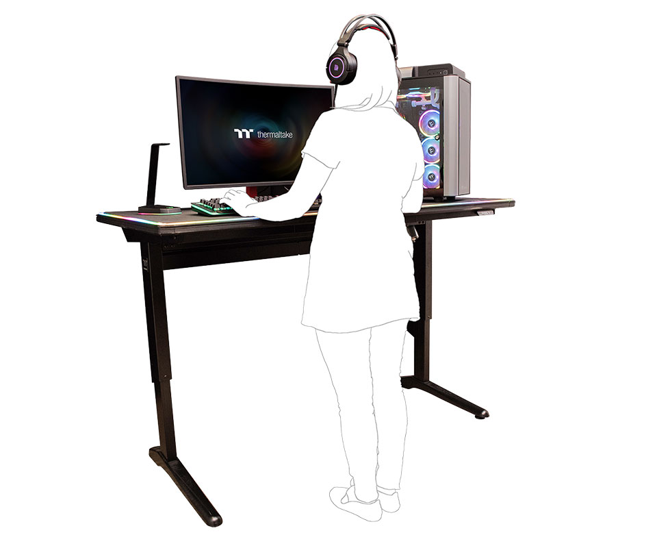 Level 20 RGB Standing Desk