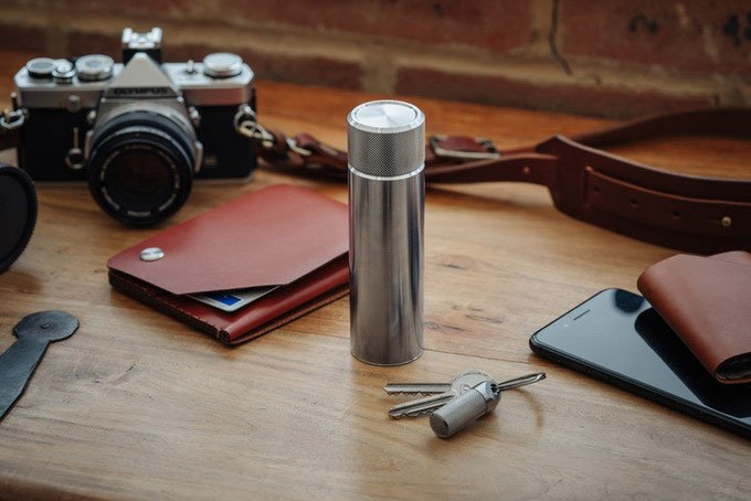 Wingback 100ml Hip Flask