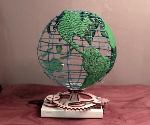 Drawing a 3D Globe