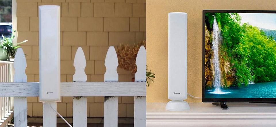 Antop Indoor/Outdoor TV Antenna