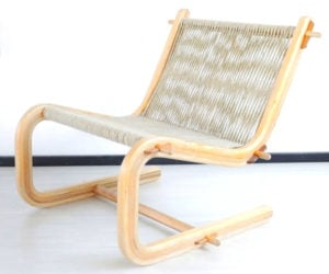 Making a Wood and Rope Chair