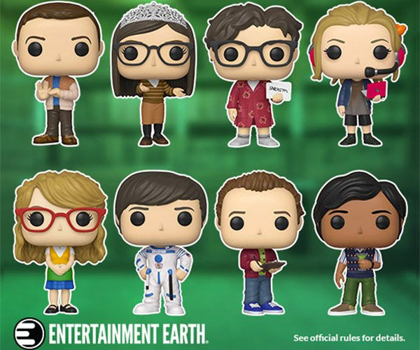 The Big Bang Theory Pop! Giveaway