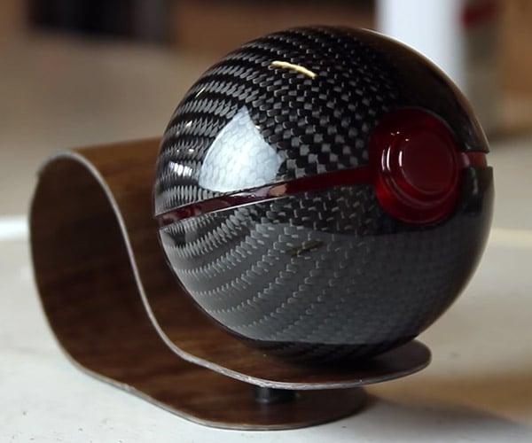 Making Carbon Fiber Poké Balls