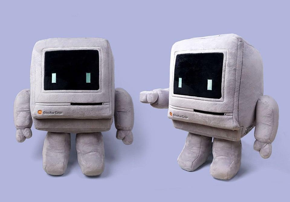 Classicbot Plush Computer