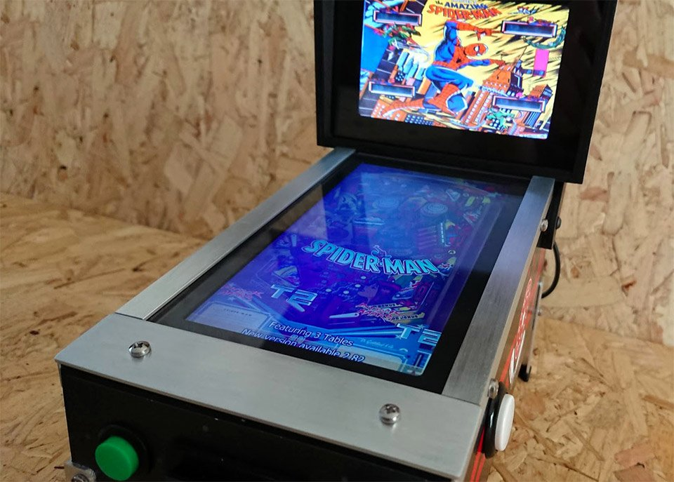 DIY Micro Pinball Machine