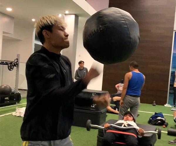 Floating Medicine Ball