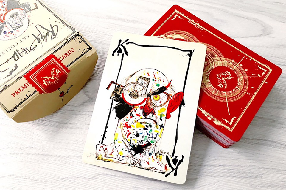 Flying Dog Playing Cards