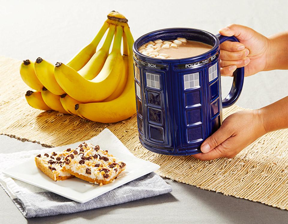Jumbo TARDIS Mug
