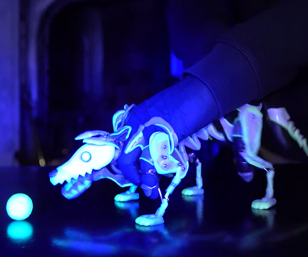 Glowing Puppy Puppet
