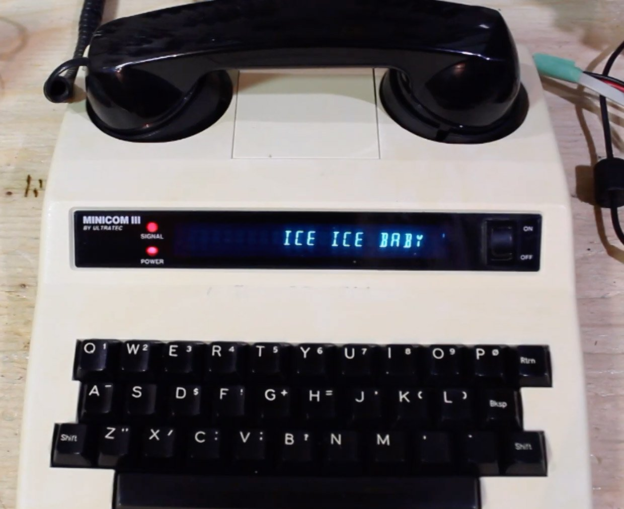 bd594: Ice Ice Baby (f/DECtalk)