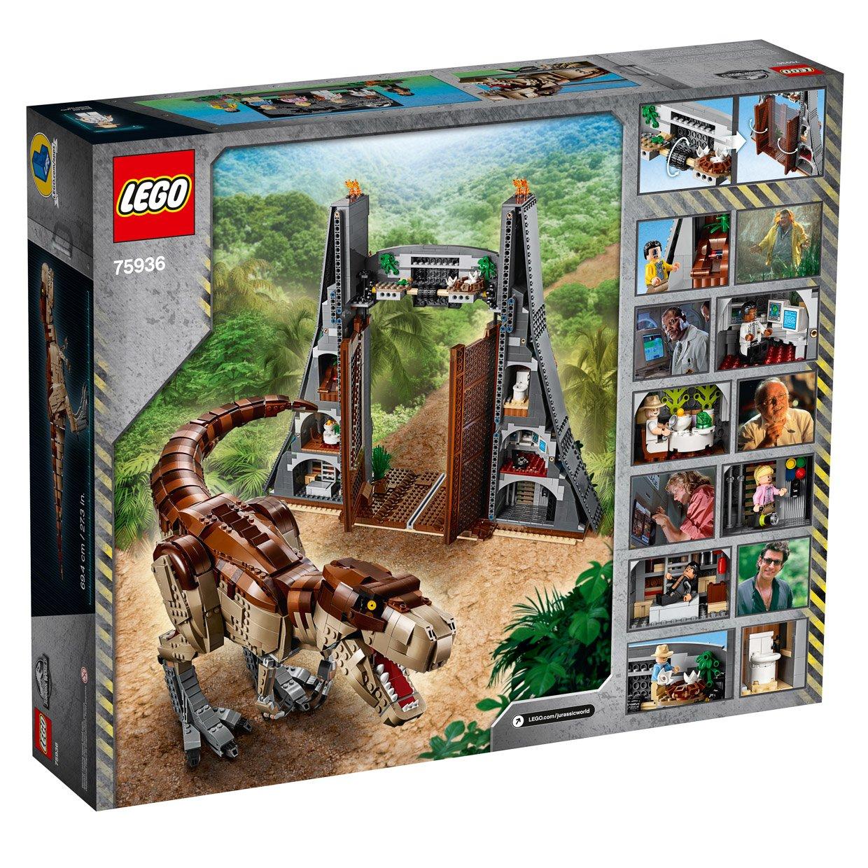 LEGO Jurassic Park T.rex Rampage