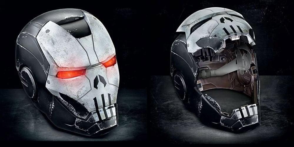 「the punisher war machine armor helmet」的圖片搜尋結果