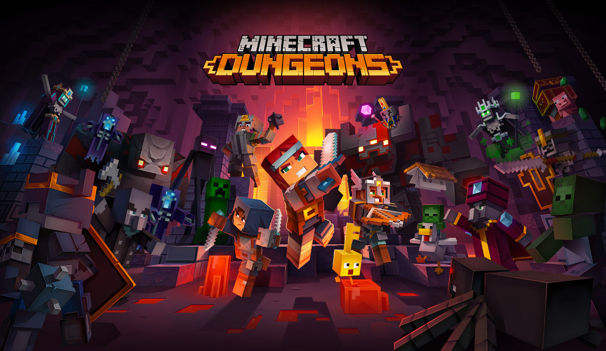 Minecraft Dungeons (Trailer)