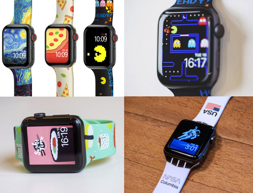 MobyFox Apple Watch Bands & Faces