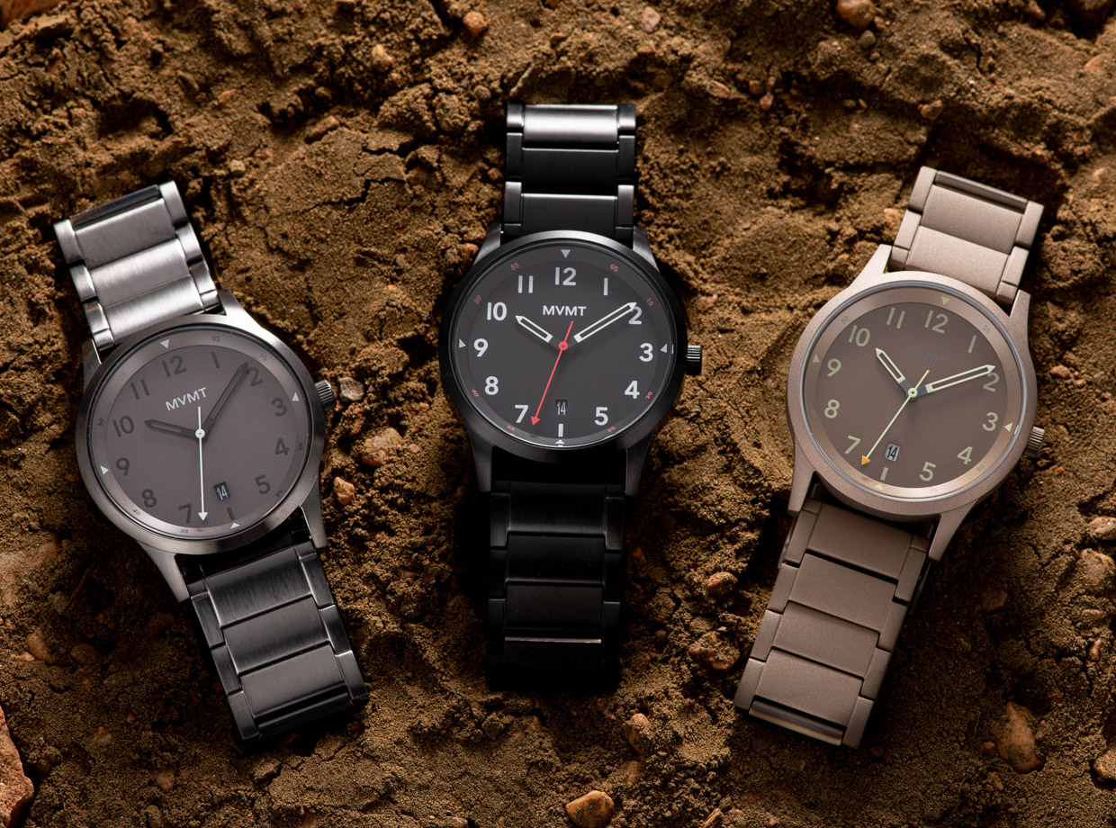 MVMT Field Collection Watches