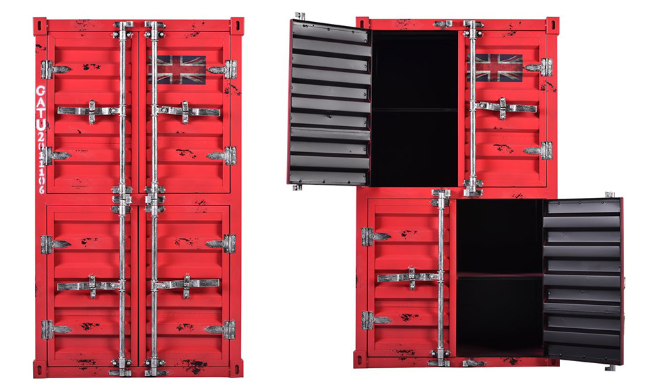 Noemi Shipping Container Cabinet