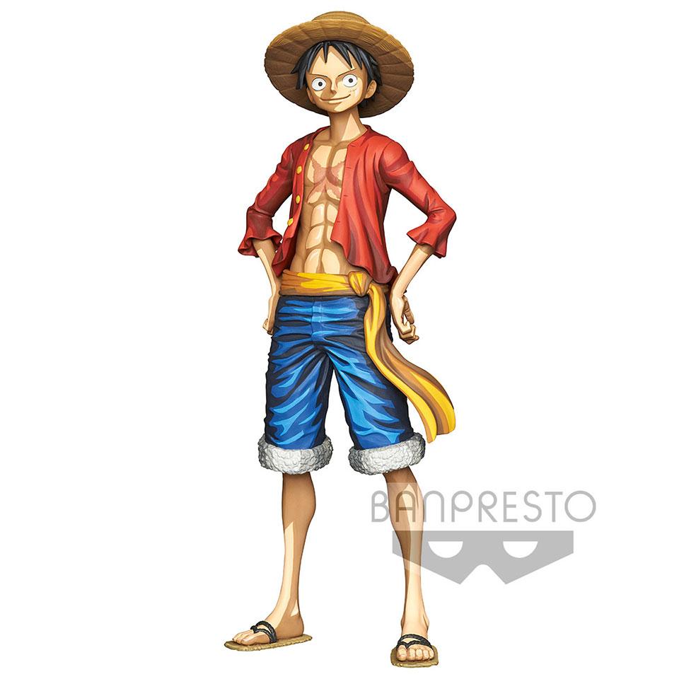 One Piece Luffy Manga Statue